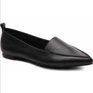 Aldo Galinsky pointed toe leather flats- 6.5